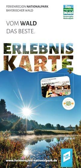 Titelseite Erlebniskarte - Ferienregion Nationalpark Bayerischer Wald