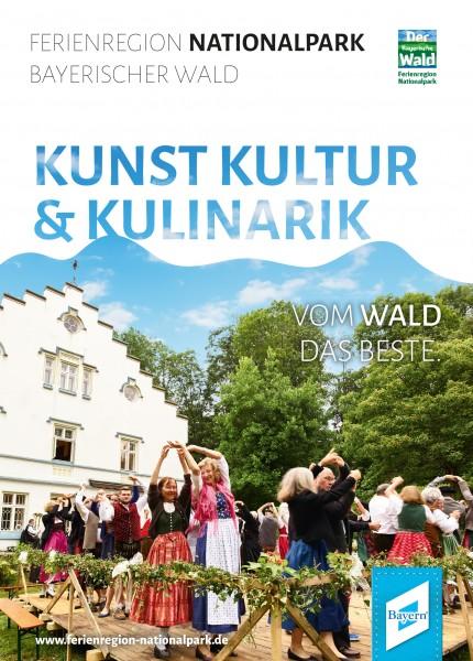Pocketguide Kunst, Kultur und Kulinatik - Ferienregion Nationalpark Bayerischer Wald