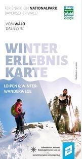 Titelseite Winter-Erlebniskarte Ferienregion Nationalpark Bayerischer Wald